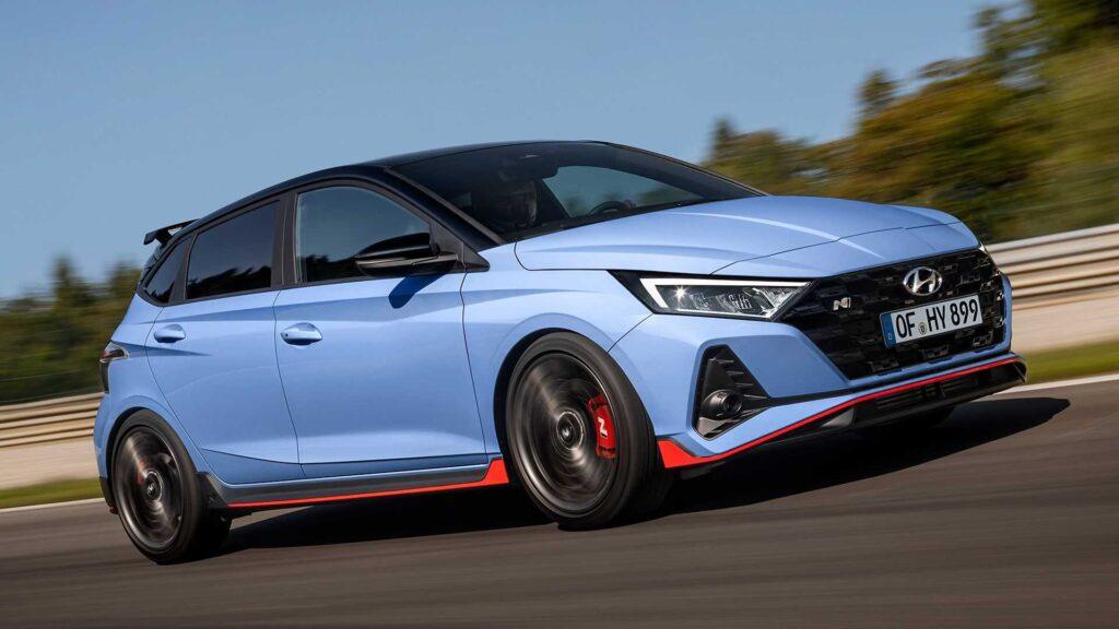 هيونداي تكشف عن السيارة الرياضية i20 N الجديدة 2021 Hyundai-i20-n-2021-1024x576